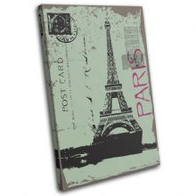 Paris Eiffel Tower Landmarks - 13-2033(00B)-SG32-PO